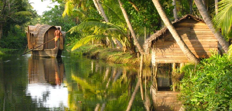 Kerala the backwaters
